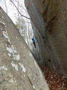 Rock Climbing Photo: Jen on Goforia VO