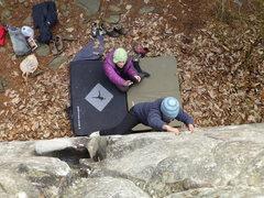 Rock Climbing Photo: Jen and Anjanette @ Rocktown