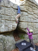 Rock Climbing Photo: I was initially criticized for the use of face hol...