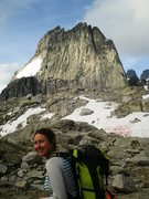 Rock Climbing Photo: Snowpatch Spire in the back.