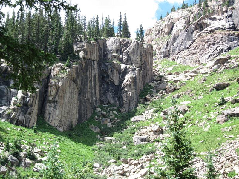 Rock Climbing Photo: Granite.