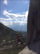 Rock Climbing Photo: Nick Layton Swingin'