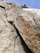 Rock Climbing Photo: Nick Layton Sending Fools paradise