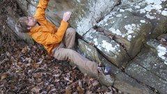 Rock Climbing Photo: Three Ledges