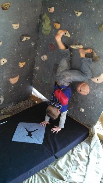 Rock Climbing Photo: Upside down