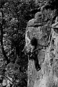 Rock Climbing Photo: Clipping the chains