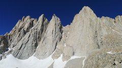 Rock Climbing Photo: Keeler Needle and Whitney.