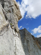 Rock Climbing Photo: Harding Route on Conness.