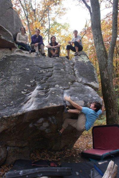 Rock Climbing Photo: Cheering squad