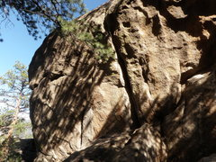 Rock Climbing Photo: A bolted, overhanging crack [named Johnson] in The...