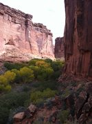 Rock Climbing Photo: Down canyon.