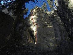 Rock Climbing Photo: sick, huge moves!