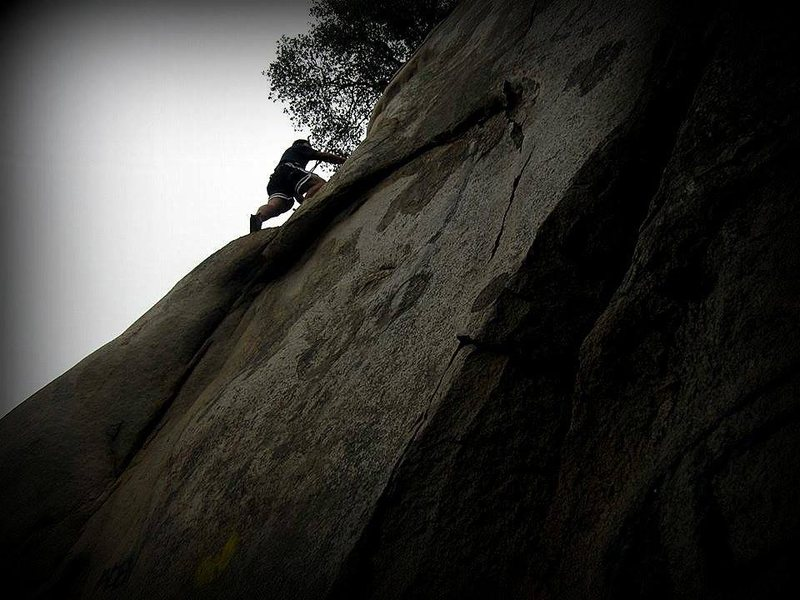 Y-Crack was my first outdoor climb ever.