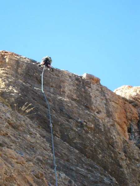 Rock Climbing Photo: Here I am on Blacklisted 5.9 (11/2013)