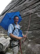 Rock Climbing Photo: looking glass-shade!
