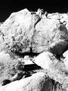 Rock Climbing Photo: B-1 Crack.