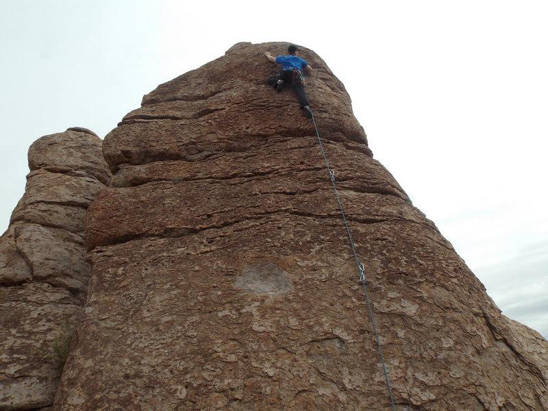 Rock Climbing Photo: 1st time at the mine. Fun climb!