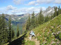 Rock Climbing Photo: MOUNT GIMLI TRAIL