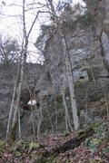 Rock Climbing Photo: Natural arch near Mother Wall