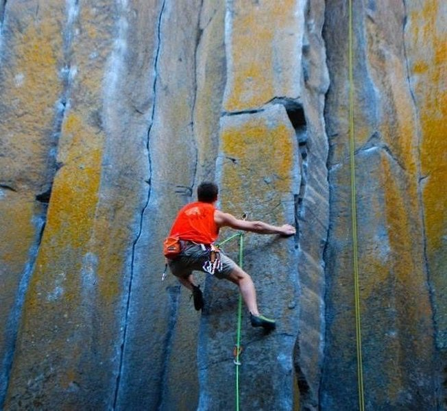 Rock Climbing Photo: One of my favorite routes.