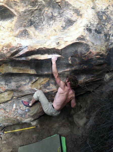 Rock Climbing Photo: The start—same as General Electric.