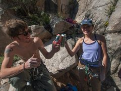Rock Climbing Photo: Cheers