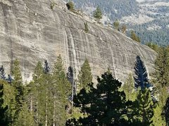 Rock Climbing Photo: Punk Rock (West Face), Courtright Reservoir