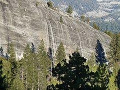 Rock Climbing Photo: Punk Rock (West Face), Courtright Reservoir