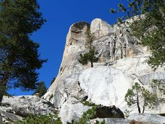 Rock Climbing Photo: Carson-Kodas Arete (5.11b R), Courtright Reservoir