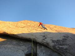 Rock Climbing Photo: Rick on Buenos Aires