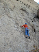 Rock Climbing Photo: Rick on Three Bolts Closer To Divorce