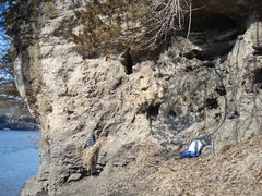 Rock Climbing Photo: Orlando area mid winter.
