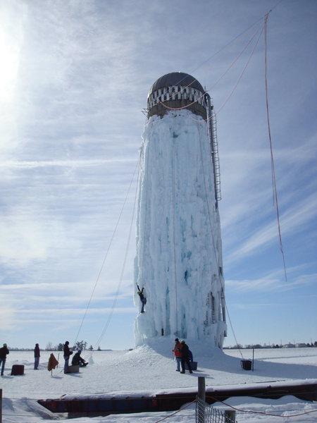Rock Climbing Photo: Nice ice