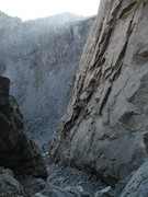 Rock Climbing Photo: Death Gully descent