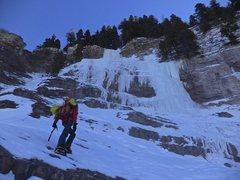 Rock Climbing Photo: Dexter Creek Slabs as seen on the approach.