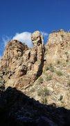 Rock Climbing Photo: Qtip