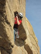 Rock Climbing Photo: Geir Hundal, getting the easy pro placed on this h...