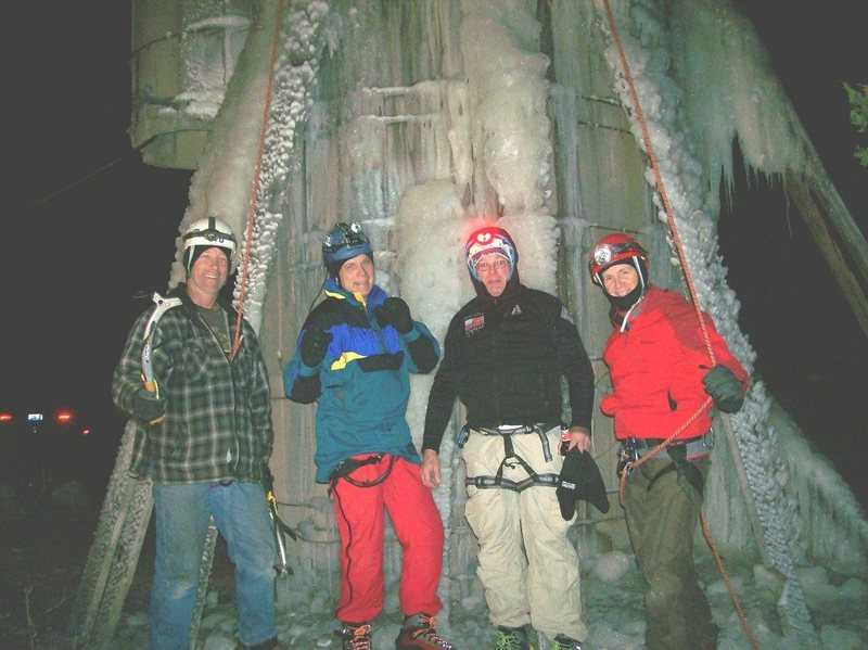 Rock Climbing Photo: the Nice Ice team for 2014