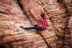 Rock Climbing Photo: Calico Basin