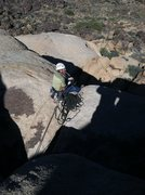 Rock Climbing Photo: Great belay perch!