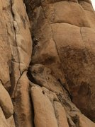 Rock Climbing Photo: Ben Larson leading West Chimney.