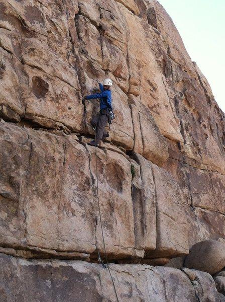 Rock Climbing Photo: Ben Larson on Butterfingers.