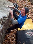 Rock Climbing Photo: Eero46 working the Ring Bearer.