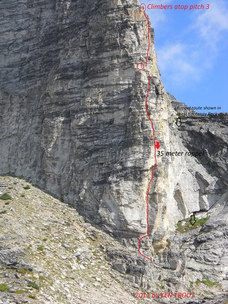 Rock Climbing Photo: GIMLI SOUTH RIDGE