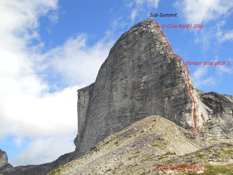 MOUNT GIMLI'S SOUTH RIDGE