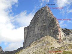 Rock Climbing Photo: MOUNT GIMLI'S SOUTH RIDGE