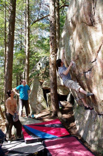Rock Climbing Photo: Chucky!