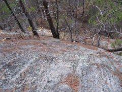 Rock Climbing Photo: mostly burned