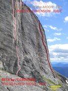 Rock Climbing Photo: WEST FACE-LEFT SIDE