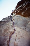 Rock Climbing Photo: You can not see the roof or the fun face moves in ...